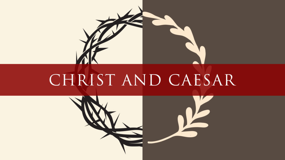 Christ and Caesar Image