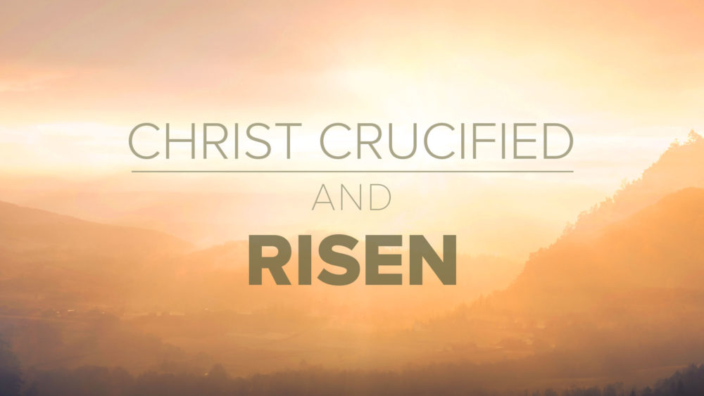 Christ Crucified and Risen Image